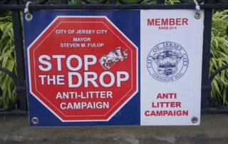 Stop the Drop sign